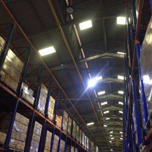 ติดตั้งหลอดไฟ LED งานภายใน